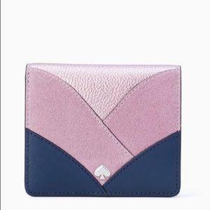 Kate Spade Nadine Patchwork Small Billfold Wallet